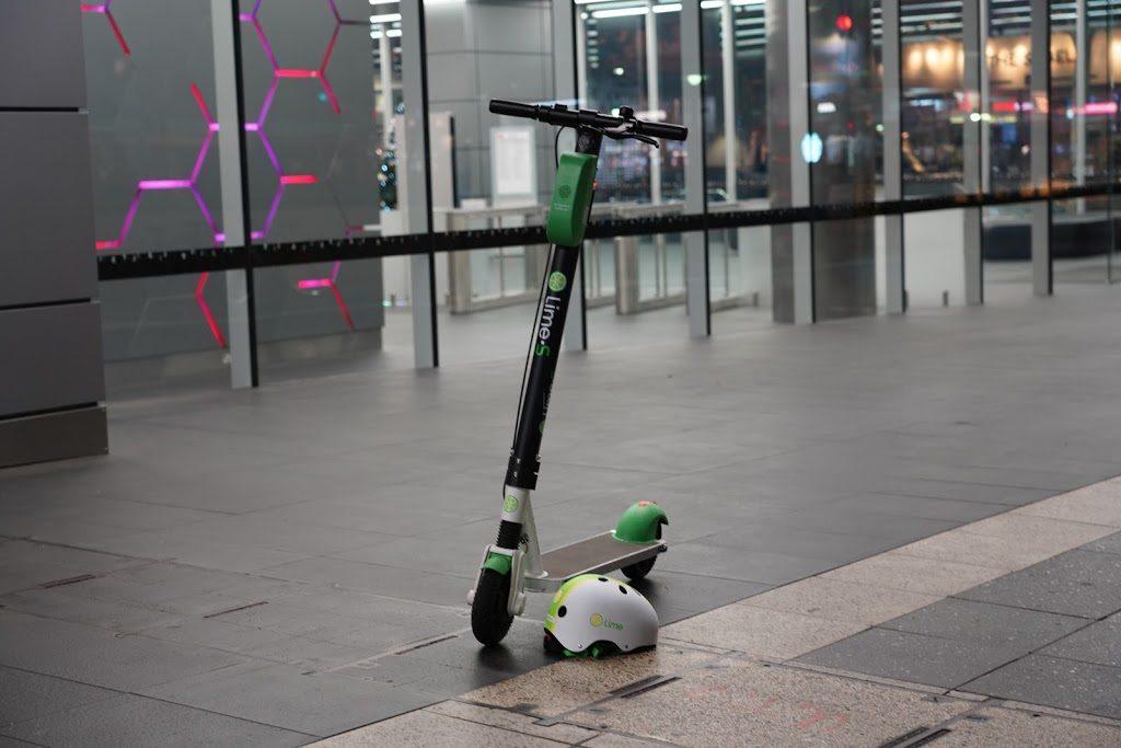 Limeの電動スクーター