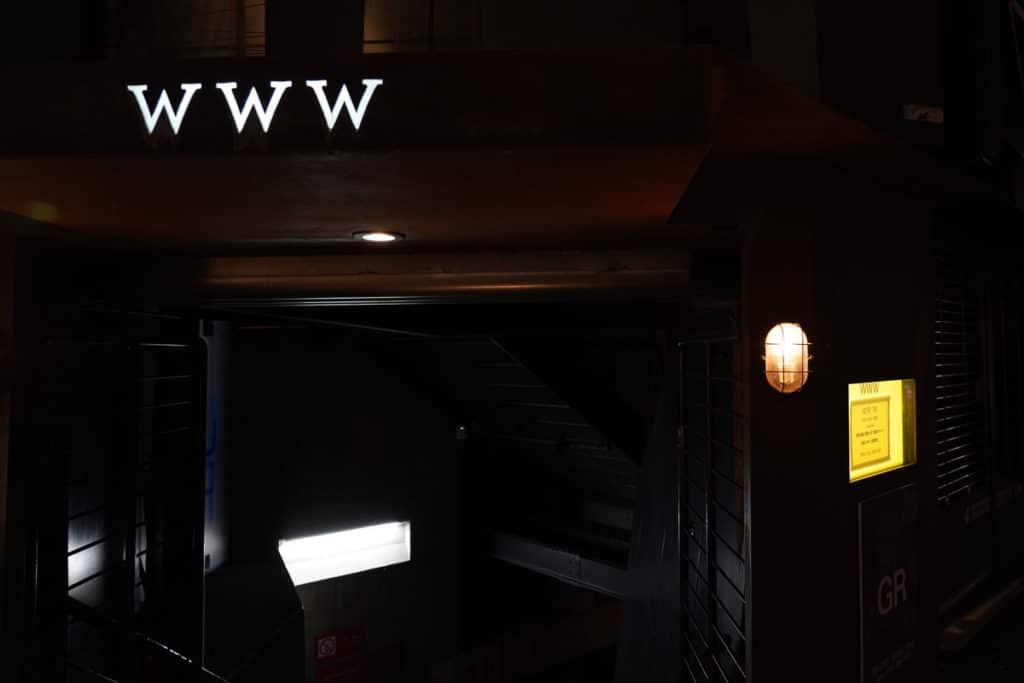 GR LIVE!の会場は渋谷WWW