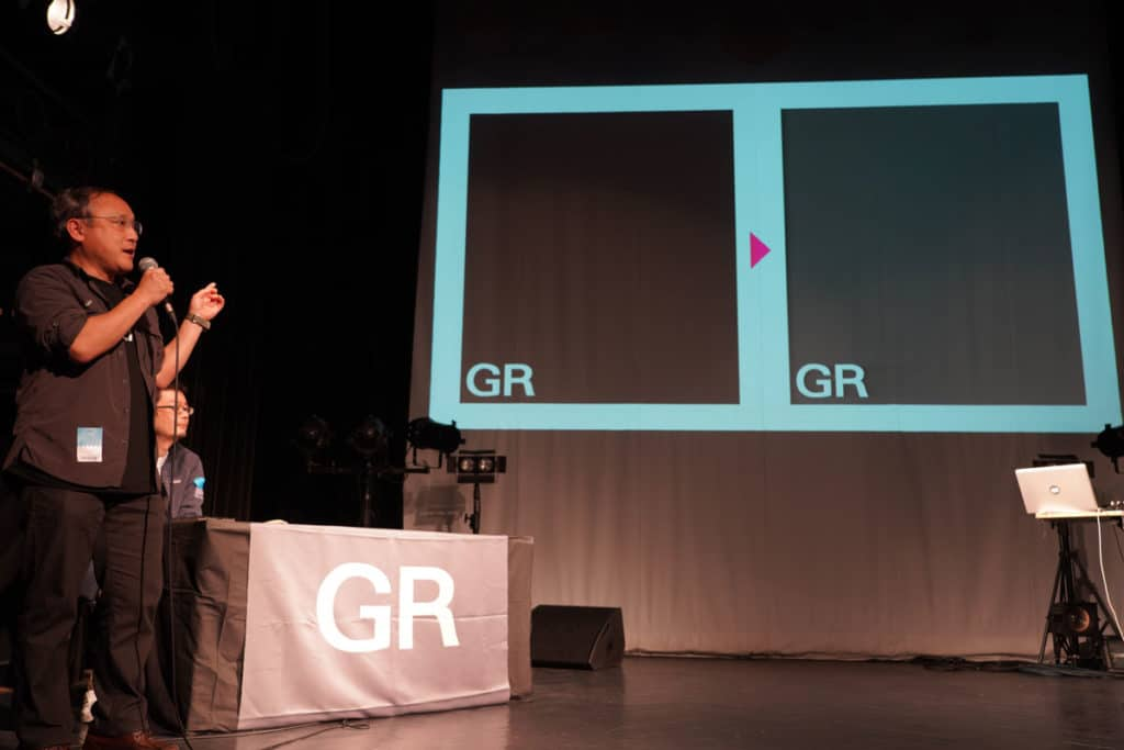 GRのイメージカラーをブラックからグレーに変更