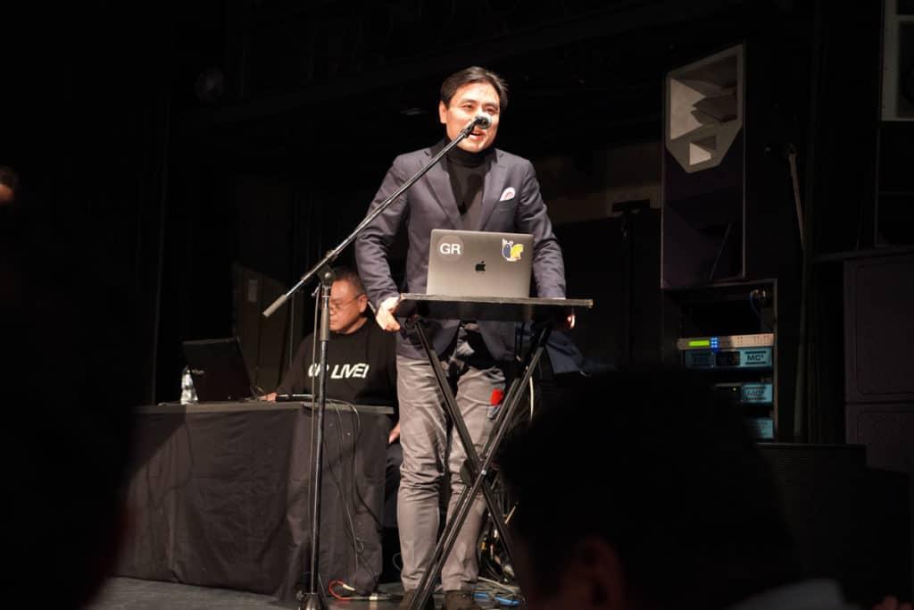 塩澤一洋さんのトークセッション