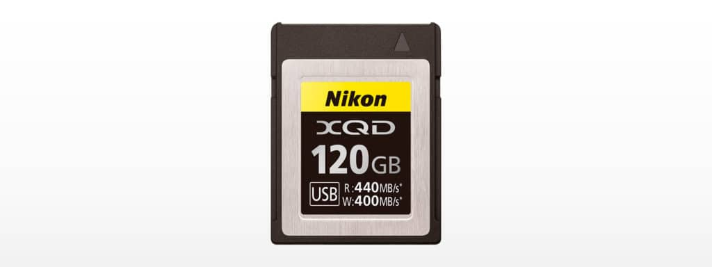 ニコン XQDメモリーカード MC-XQ120G