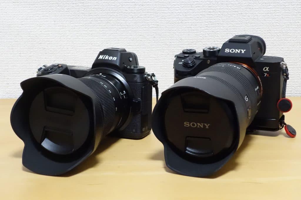 ニコン Z 6とソニー α7R III