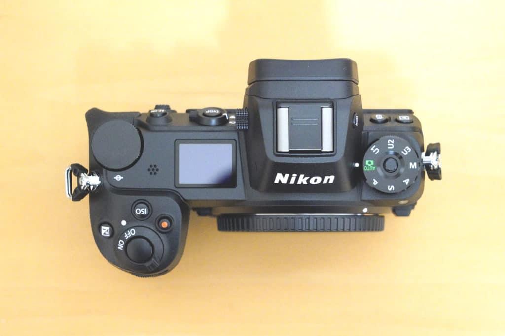 ニコン Z 6(上面)